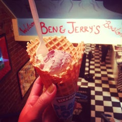 Photo taken at Ben & Jerry's by Olivia D. on 3/20/2012