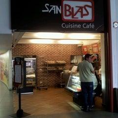 Photo taken at San Blas Cuisine Café by Alberto E. on 5/4/2012