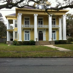 Photo taken at Old Dauphin Way Historic District by Matt J. on 2/5/2012