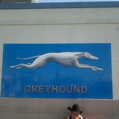 Photo taken at Greyhound Bus Lines by Rob S. on 3/7/2012