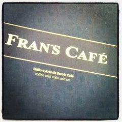 Photo taken at Fran's Café by Kleber L. on 4/17/2012