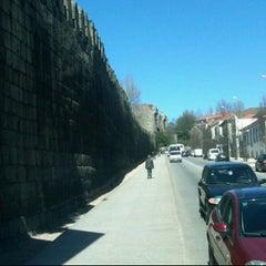 Photo taken at Muralhas da Cidade de Guimarães by Carlos C. on 3/20/2012