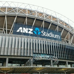 Photo taken at ANZ Stadium by Ander E. on 8/18/2012