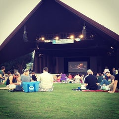 Photo taken at Miller Outdoor Theatre by thera on 8/23/2012