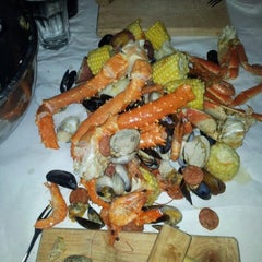 Photo taken at The Crab Pot by Ágnes U. on 7/26/2012