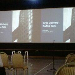 Photo taken at HP Global Center Multipurpose Hall by Juwita M. on 2/27/2012