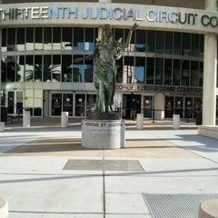 Photo taken at Hillsborough County Courthouse by Melanie W. on 3/22/2012