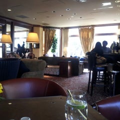 Photo taken at The Polo Club Lounge by Sally F. on 9/8/2012