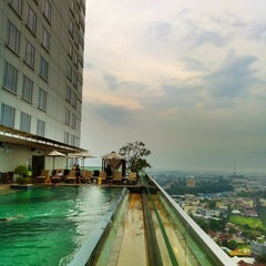 Photo taken at JW Marriott Hotel Medan by Sandeep on 8/27/2012