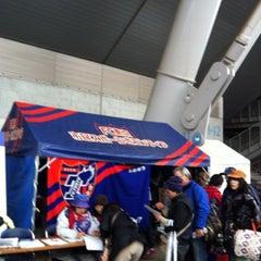 Photo taken at FC東京スポボラテント(味スタメイン) by ko77 on 4/18/2012
