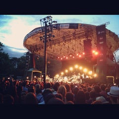 Photo taken at Central Park SummerStage by Chris B. on 6/12/2012