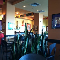 Photo taken at Wolfgang Puck Express (West Side) by Michelle C. on 3/20/2012