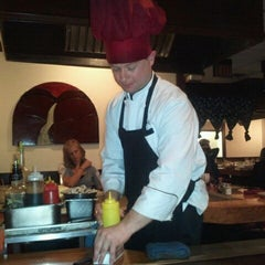 Photo taken at Kiku Japenese Steak House by Susan L. on 11/5/2011