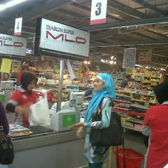 Photo taken at Superindo jatikramat by Hade 0. on 12/26/2011