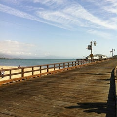 Photo taken at Stearns Wharf by Kevin E. on 2/12/2012