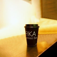Photo taken at FIKA Espresso Bar by Robert R. on 11/3/2011
