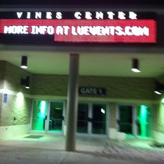 Photo taken at Vines Center by Paul P. on 8/5/2011