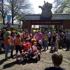 Photo taken at Amusementspark Tivoli by Peter V. on 4/30/2012