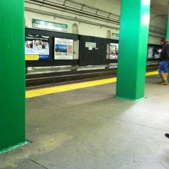 Photo taken at MBTA Hynes Convention Center Station by Jacob F. on 11/9/2011