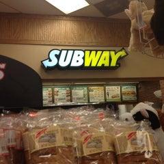 Photo taken at Subway by Bryan on 6/30/2012
