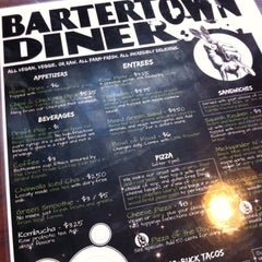 Photo taken at Bartertown Diner by Laura C. on 1/29/2012