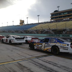 Photo taken at Homestead-Miami Speedway by Fernanda C. on 3/9/2012
