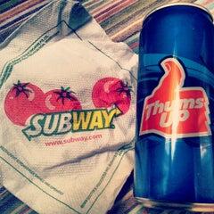 Photo taken at Subway by Vignesh M. on 4/22/2012