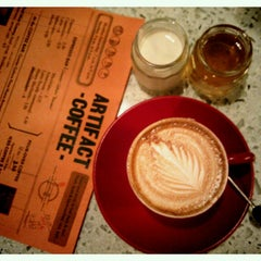Photo taken at Artifact Coffee by Samantha on 7/14/2012
