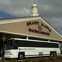 Photo taken at Shady Maple Smorgasbord by Russ D. on 3/29/2012