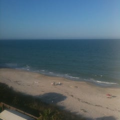 Photo taken at Crowne Plaza Melbourne-Oceanfront by Adam P. on 4/2/2011