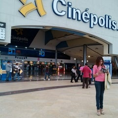 Photo taken at Cinépolis by Ana Gaby A. on 7/23/2012