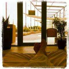 Das Foto wurde bei Therme Laa von Marketa am 10/29/2011 aufgenommen