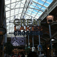 Photo taken at Great Lakes Crossing Outlets by Adam S. on 3/4/2012