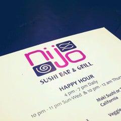 Photo taken at Nijo Sushi Bar & Grill by Brett R. on 9/23/2011