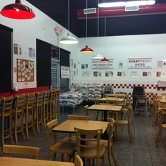 Photo taken at Five Guys by Christian M. on 2/22/2012