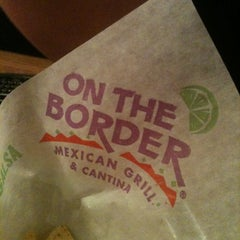 Photo taken at On The Border Mexican Grill & Cantina by Britt N. on 2/9/2011