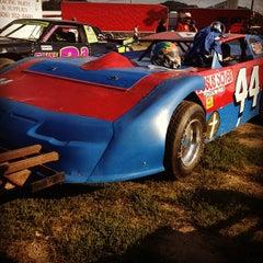 Photo taken at Portsmouth Raceway Park by Megan W. on 8/18/2012