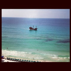 Photo taken at Destin Beach by Brittany M. on 7/24/2012