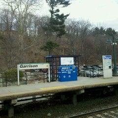 Photo taken at Metro North - Garrison Train Station by Michael B. on 3/22/2011