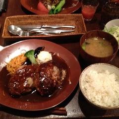 Photo taken at 俺のハンバーグ 山本 恵比寿本店 by Yusuke S. on 12/23/2011