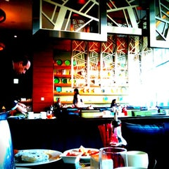 Photo taken at Courtyard by Marriott Seoul Times Square by Aris K. on 5/17/2012