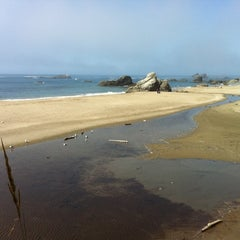 Photo taken at Harris Beach State Park by Mil M. on 8/18/2011