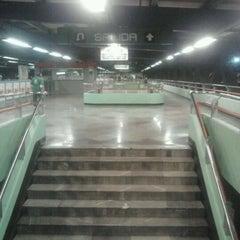 Photo taken at Metro Constitución de 1917 by Jorge V. on 12/1/2011