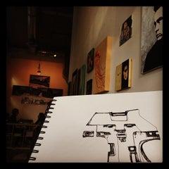 Photo taken at Café for Contemporary Art by Aleksandar Atza V. on 11/1/2011
