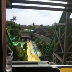 Photo taken at Waterbom Bali by Jaewon H. on 6/11/2012