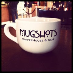 Photo taken at Mugshots Coffeehouse by Jake S. on 3/8/2012
