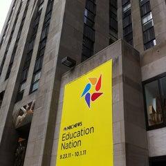 Photo taken at Education Nation by Ryan U. on 9/26/2011