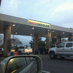 Photo taken at Costco Gas Station by Lahra R. on 1/24/2012