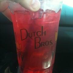 Photo taken at Dutch Bros. Coffee by Katie on 7/13/2012