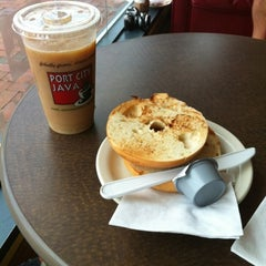 Photo taken at Port City Java by Kate E. on 8/5/2012